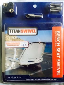 TITAN SWIVEL / INCLUDING EXPANDING ANCHOR BOLTS - ONLY $ 29.00
