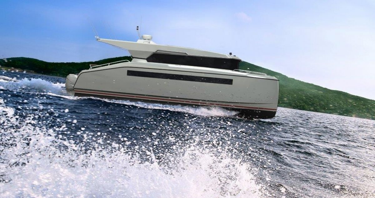 NEW BUILD - 10.8m Catamaran Motoryacht