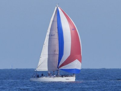 Beneteau First 47.7 excels as a fast cruising boat easy handling