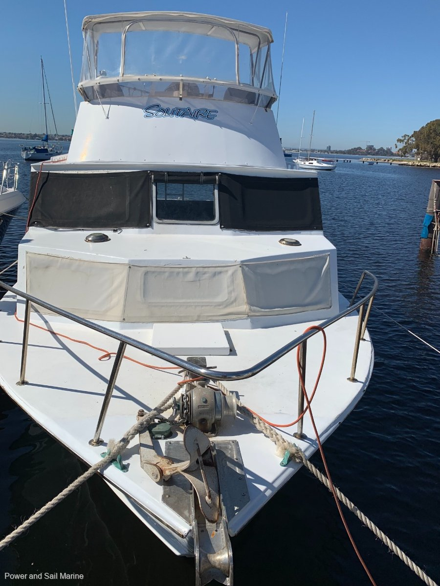 Randell 37 Flybridge Cruiser Ready for Rotto