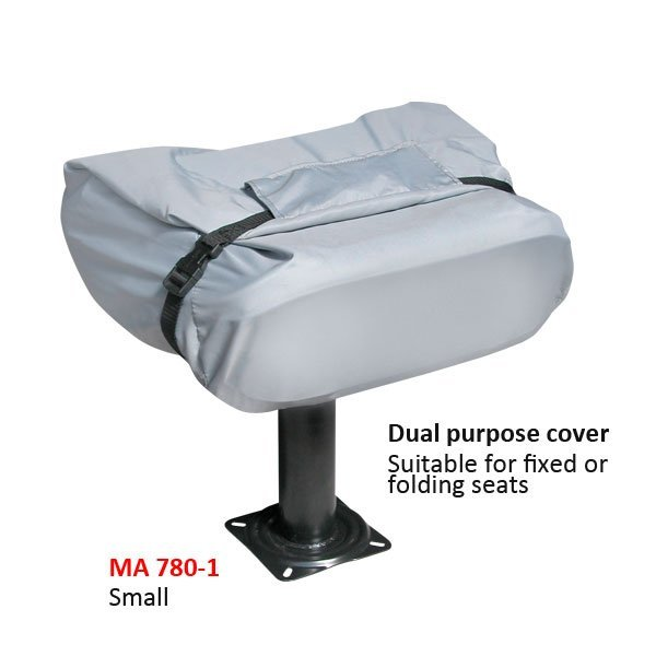 BOAT SEAT COVERS - GREAT QUALITY AND PRICE - 2 SIZES.