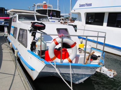 Hydrofield Full Cabin House Boat