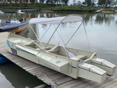 Detachable Boat for fishing and recreation-Jupiter