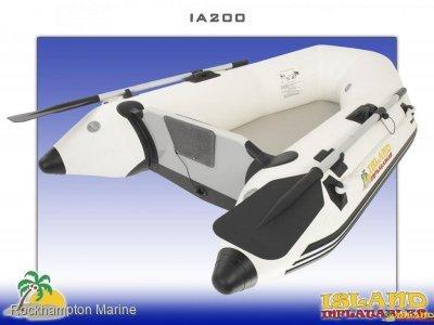 Island Inflatables Island Airdeck 200 Island Inflatable IA200