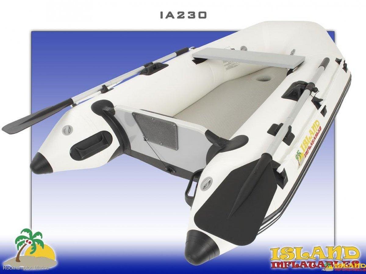 Island Inflatables Island Airdeck 230 Island Inflatable IA230