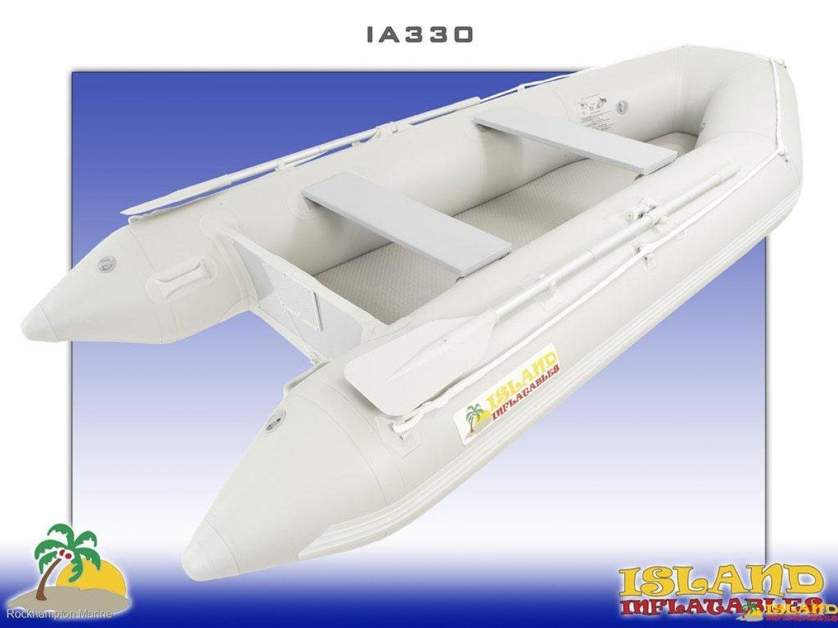 Island Inflatables Island Airdeck 330 Island Inflatable IA330