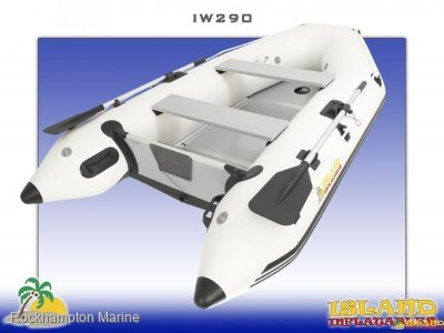 Island Inflatables Island Wood Floor 290 Island Inflatable IW290