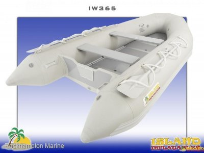 Island Inflatables Island Wood Floor 365 Island Inflatable IW365