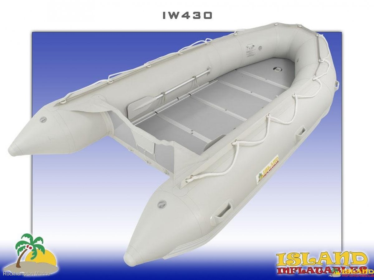 Island Inflatables Island Wood Floor 430 Island Inflatable IW430