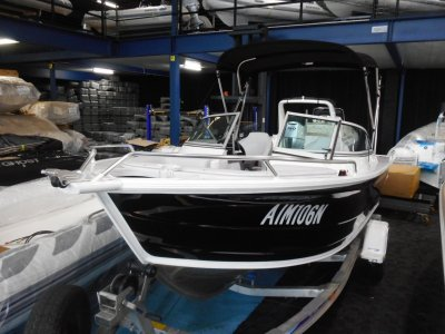Quintrex 530 Freedom Cruiser Bowrider with mercruiser 135 hp sterndrive