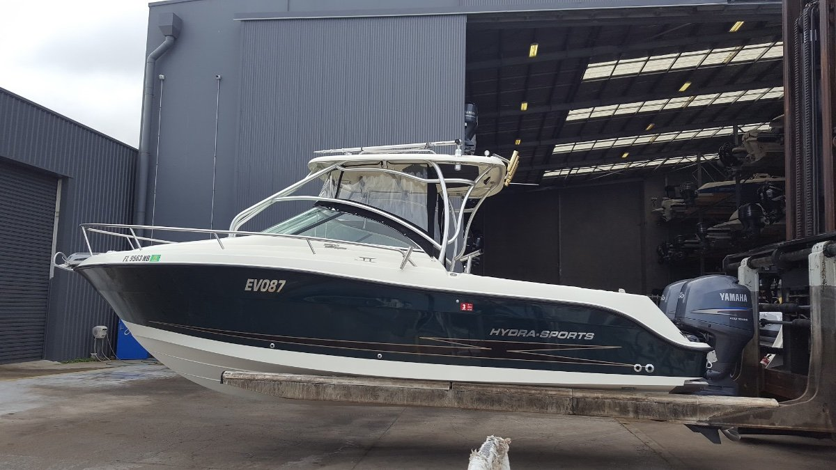 "Hydra Sports 2500vx ""GREAT FISHER with OVERNIGHT Comfort"""