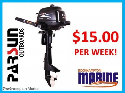 2.6HP PARSUN 4 STROKE OUTBOARD SHORT SHAFT TILLER STEER