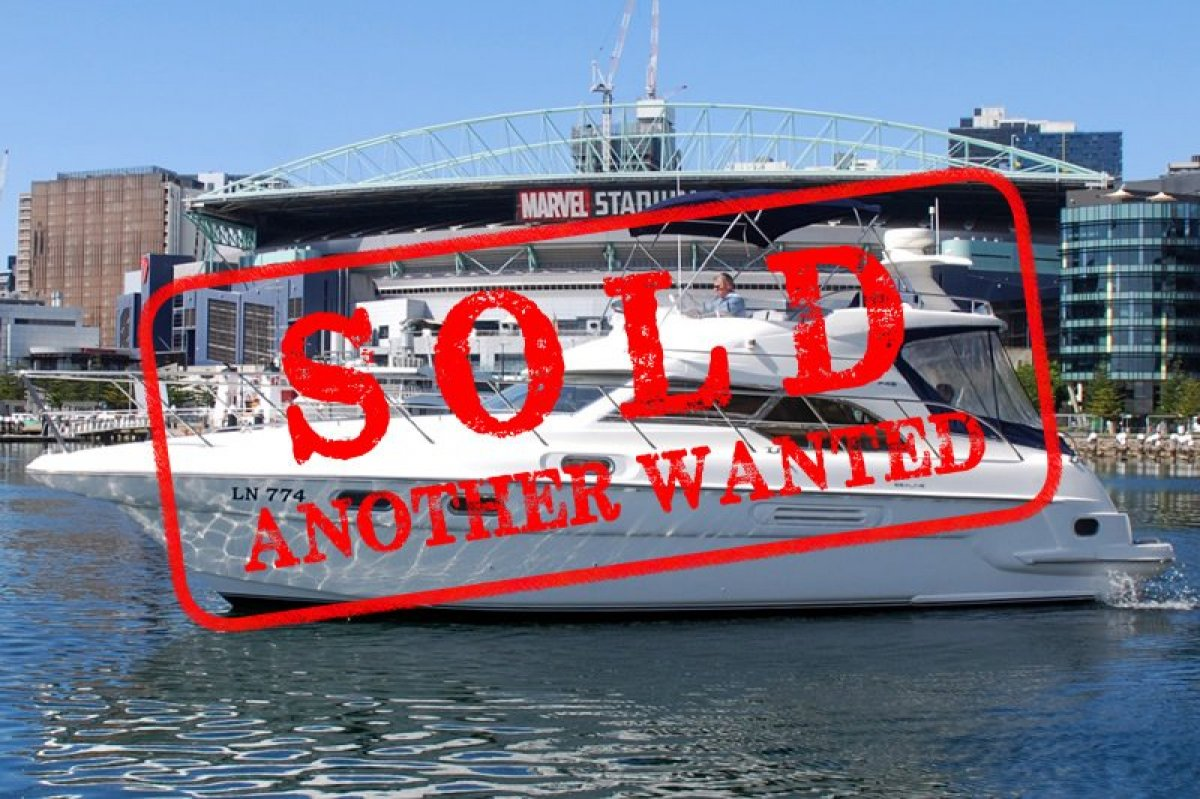 Sealine F43 - SOLD - ANOTHER WANTED