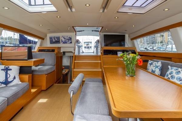 Custom Farr 85 Deck Salon
