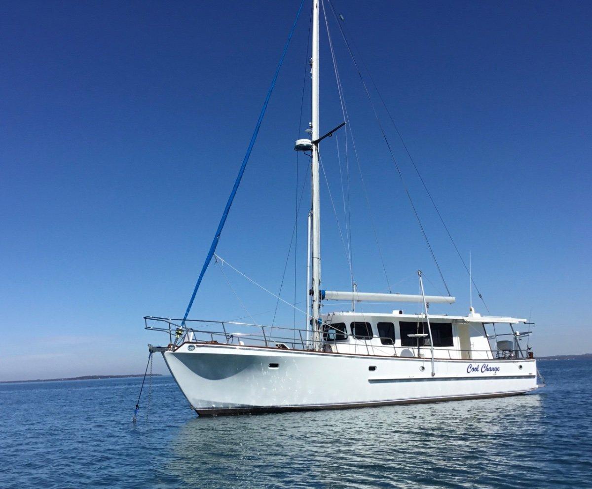 46ft Cruising Liveaboard Ocean Going Motorsailer