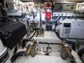 Riviera 505 SUV:Riviera 505 SUV Starboard Lounge - Gloss Walnut Timber Finish