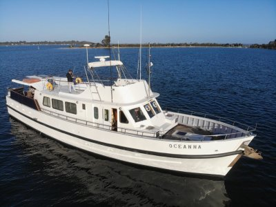 Norman Wright 70 Flybridge Cruiser