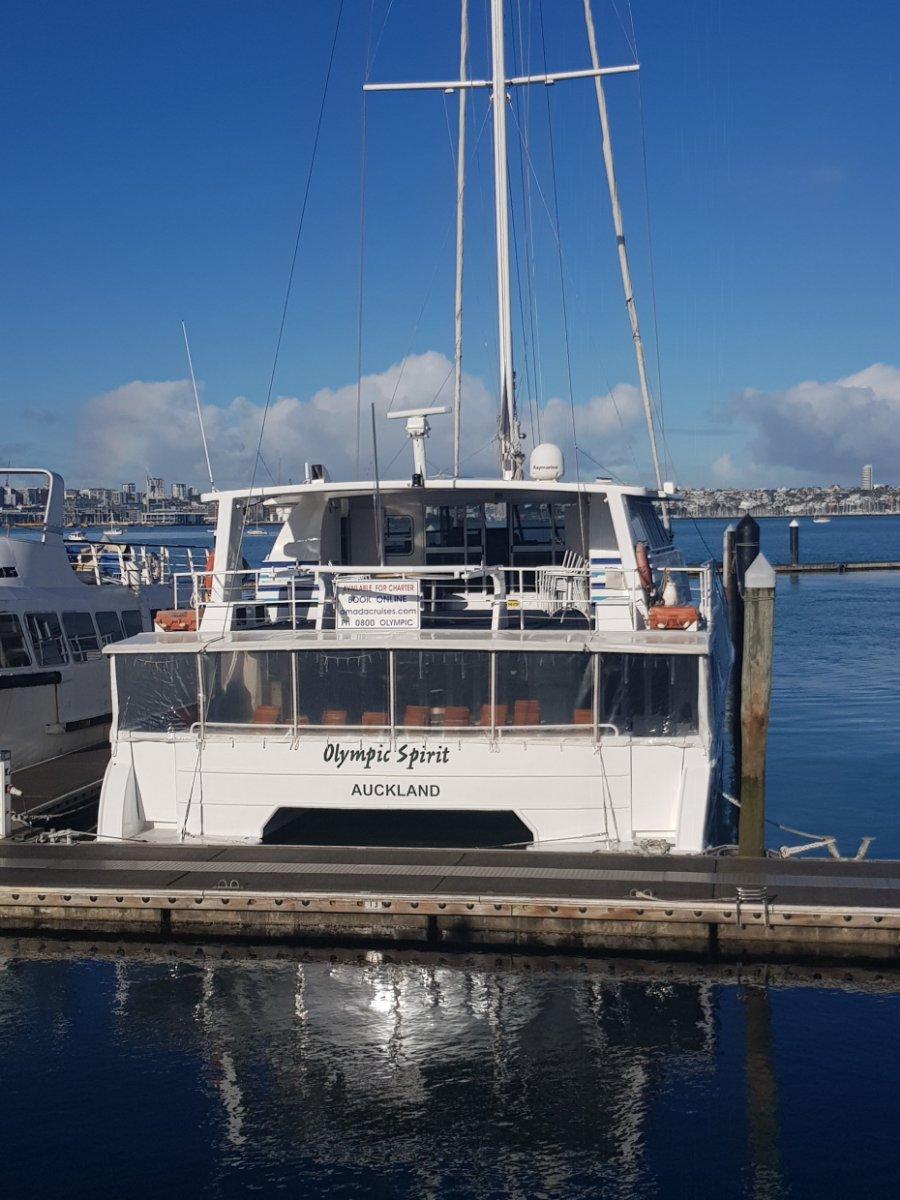 Charter Catamaran Sailing/Power Catamaran