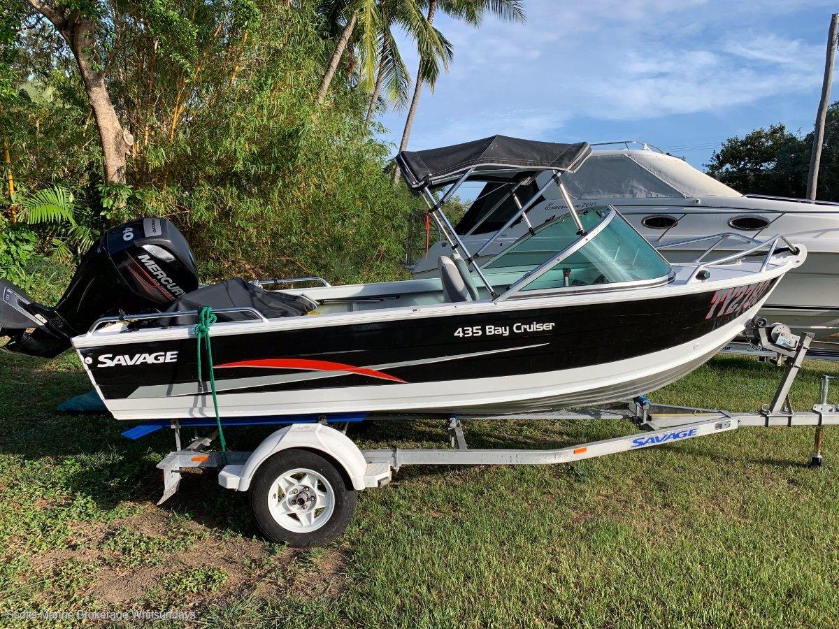 Savage 435 Bay Cruiser