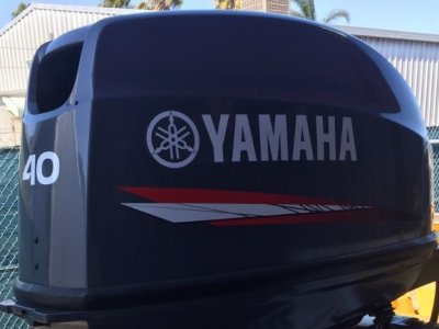 40hp Yamaha Outboard - Very Low Hours