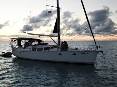 Jeanneau 43DS Australian Registered Boat located in the Bahamas
