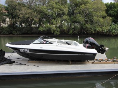 Bayliner 180 Bowrider with Mercury 115 4 stroke outboard and NEW trailer