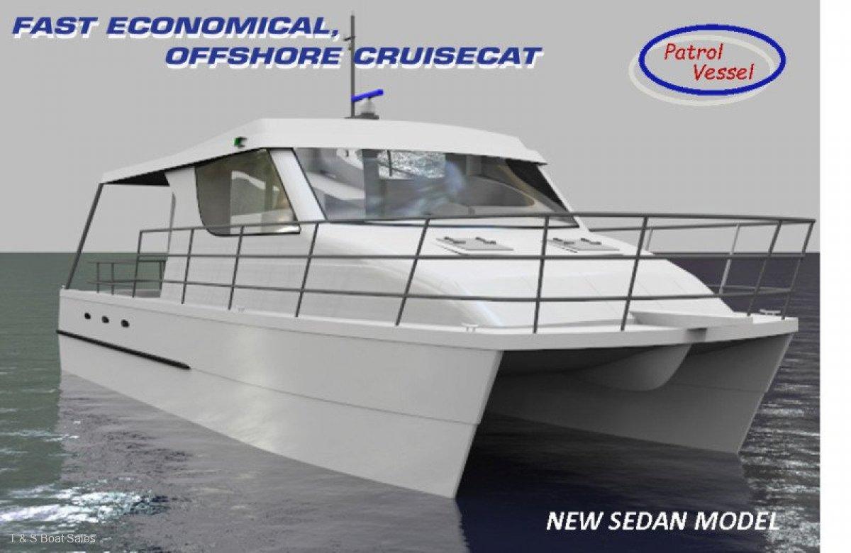 New Cruisecat 40 PROJECT BOAT HULL