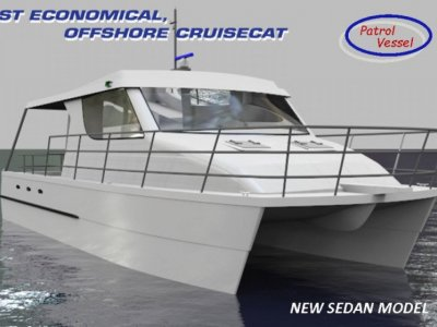 Cruisecat 40 PROJECT BOAT HULL