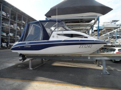 Stejcraft 640 Monaco half cabin cruiser- Click for more info...