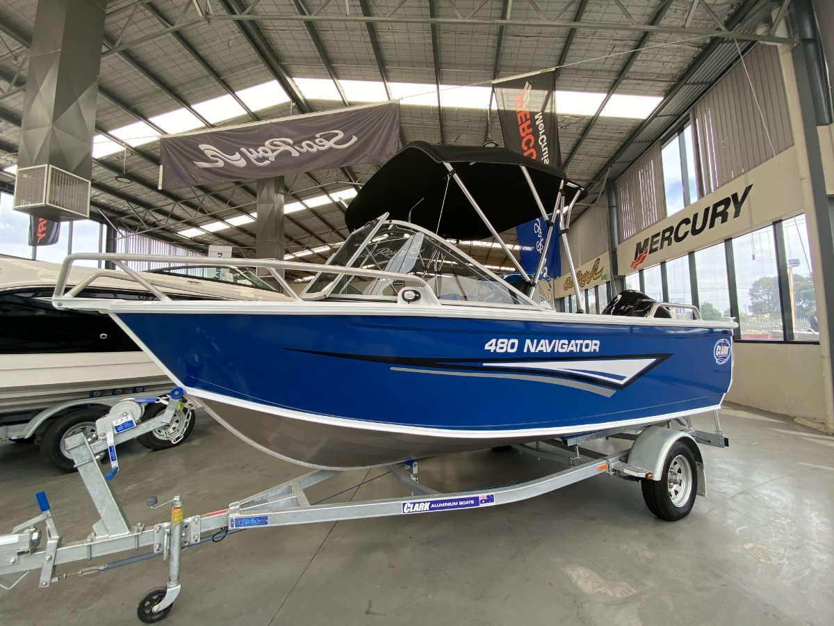 New Clark 480 Navigator