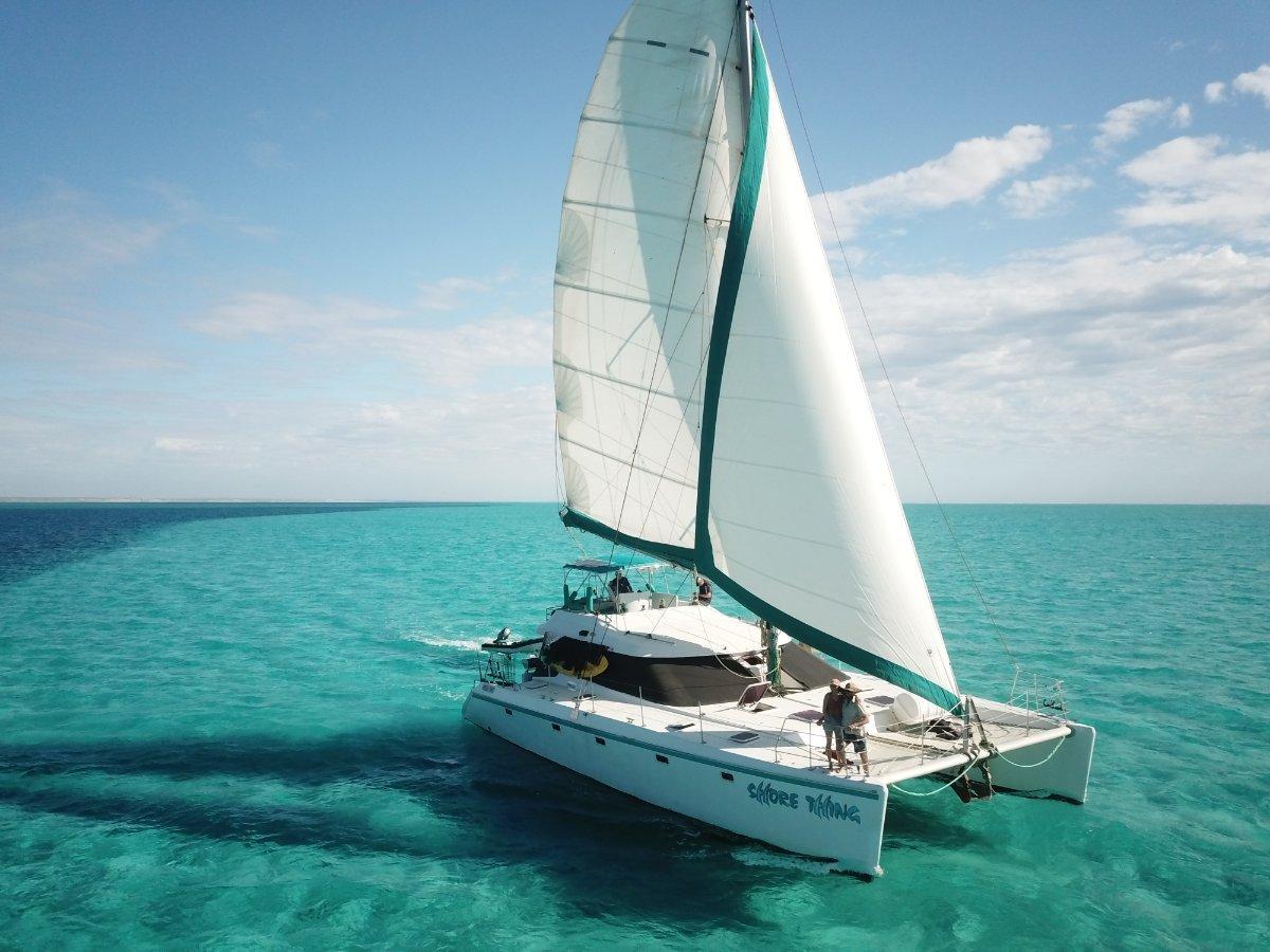Ningaloo Charter Operation incl 51ft Sailing Cat