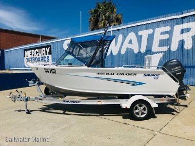 Savage 455 Bay Cruiser Save Thousands, Presents as New!!