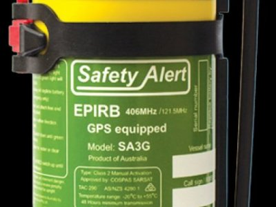 SAFETY ALERT SA3G EPIRB - 10 YEAR BATTERY LIFE AND WARRANTY - $ 295.00