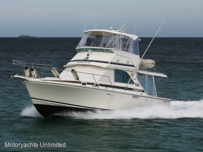Bertram Caribbean 35 - Late model engines and other great upgrades