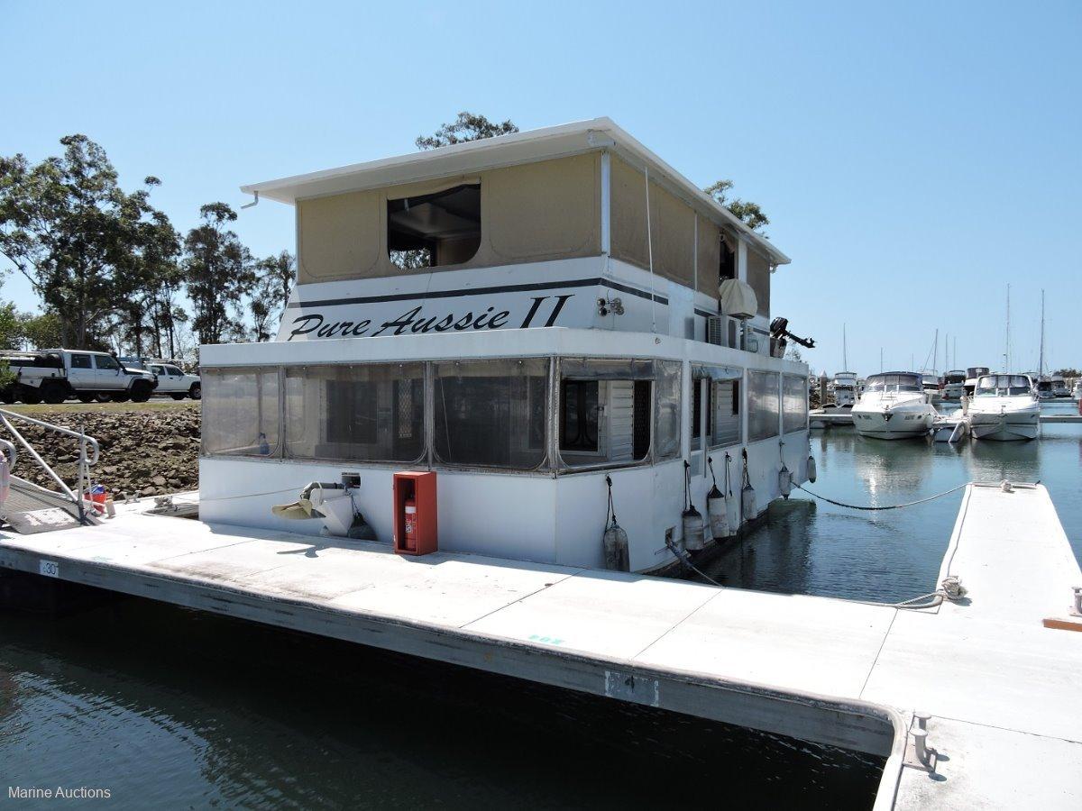 Super Cat House Boat - ONLINE AUCTION