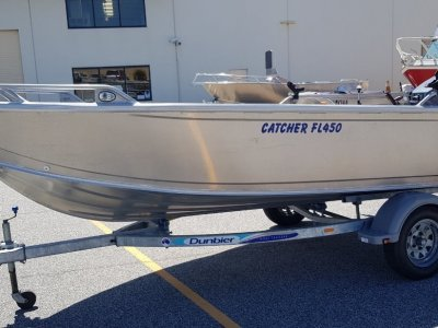 Stessco Catcher FL450 Open boat