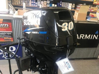 USED 2016 Suzuki 30hp 2-Stroke Outboard