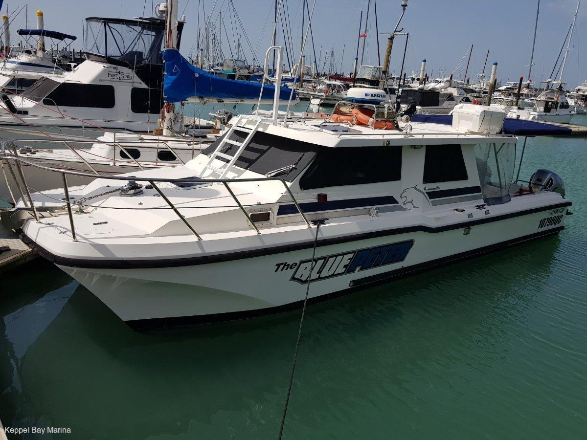 Cougar Cat Charter Fishing Vessel