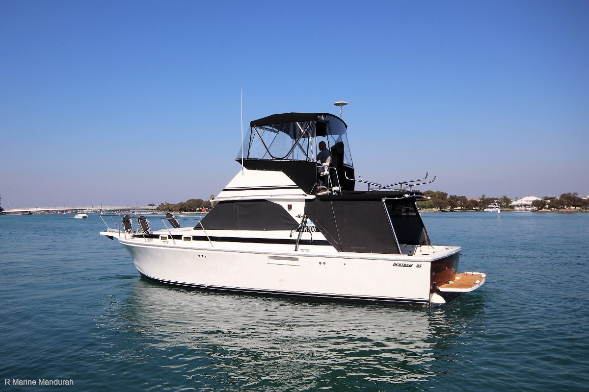 Bertram 35 Flybridge ***WEST AUSTRALIAN CLASSIC***$144900***