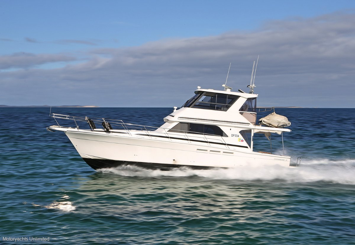 Caribbean 47 Flybridge Cruiser - Best value 47 in WA with incredible options:Caribbean 47