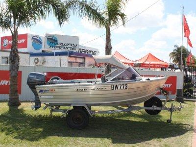 Quintrex 420 Estuary Angler Runabout