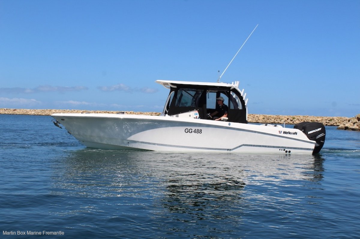 Wellcraft 302 Fisherman delivered in 2017