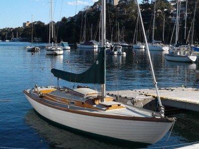 Folkboat Nordic Classic Timber sloop