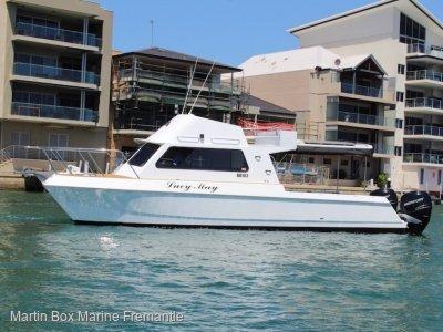 Harriscraft Catamaran Renewed in 2017