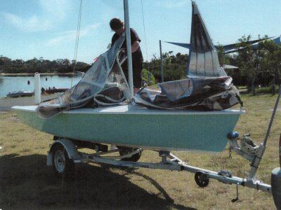 Spitfire 16' Sailing Dinghy