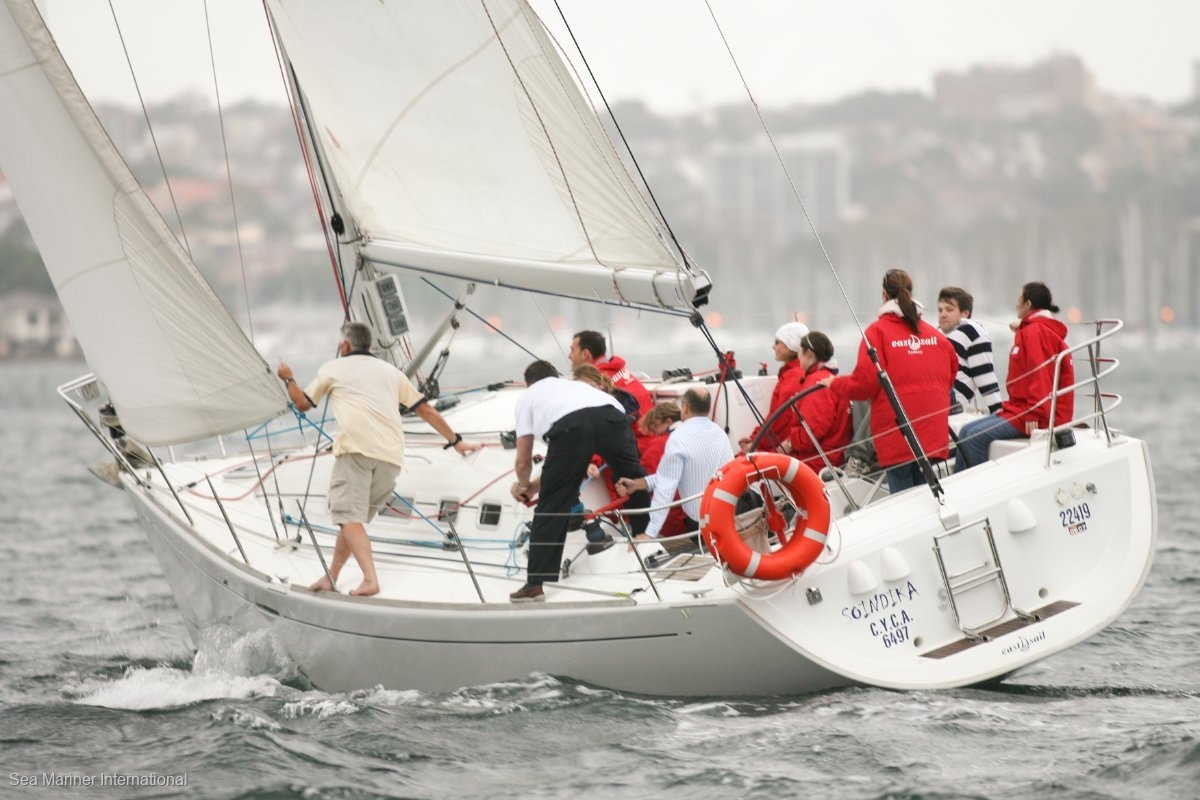 Beneteau First 40.7 Racing Triple Spreader Rig and racing sails
