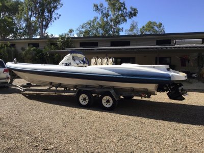 Cougar R9 Sports RIB, Rigid Hull Inflatable with Trailer