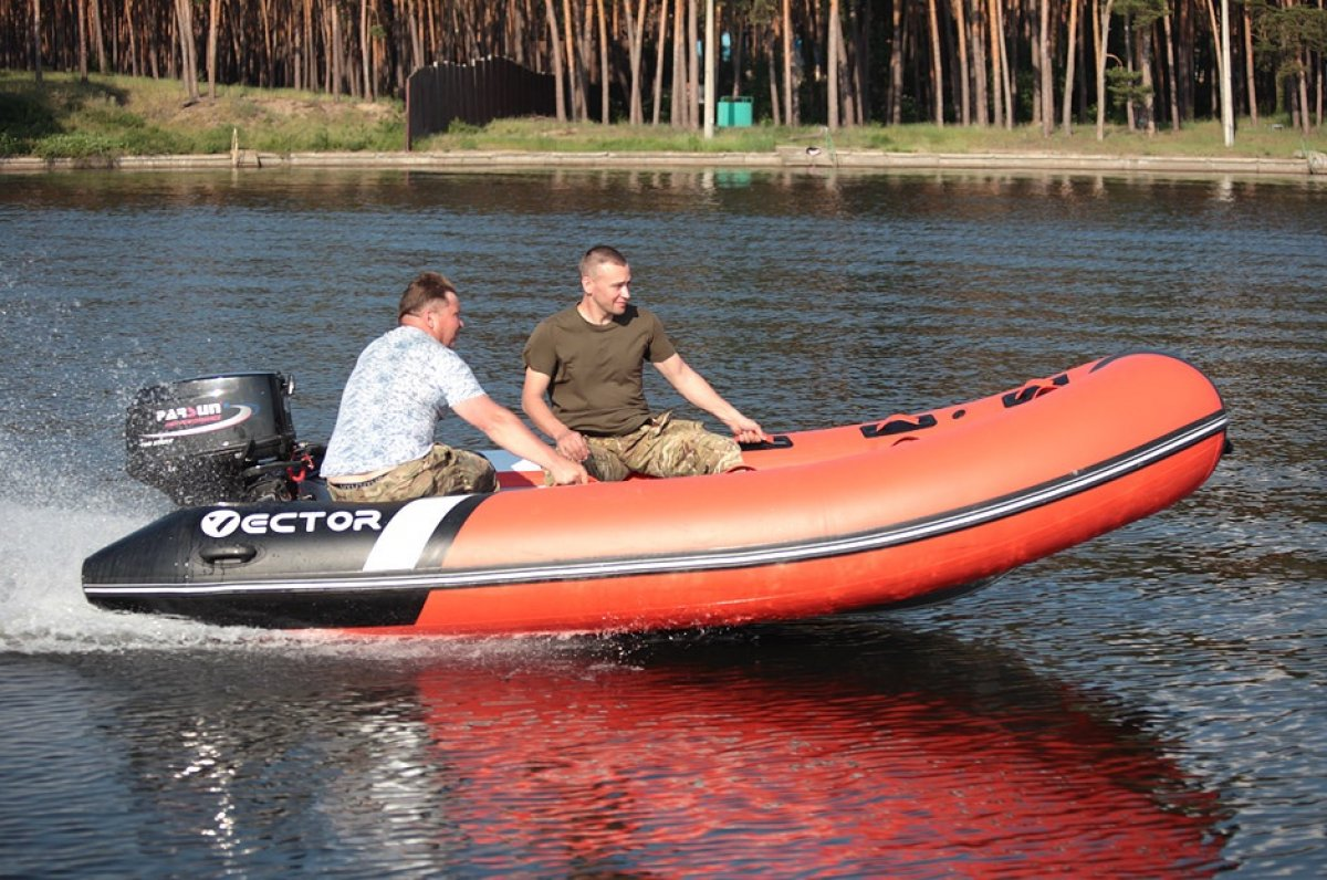 Vector - NEW BUILD - 4m RIB