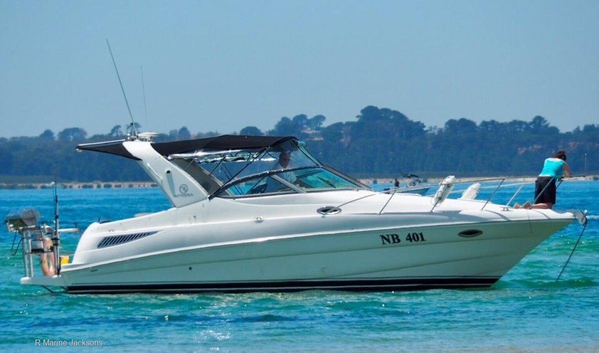 Riviera M290 Sport Cruiser Boat Brokers of Tasmania