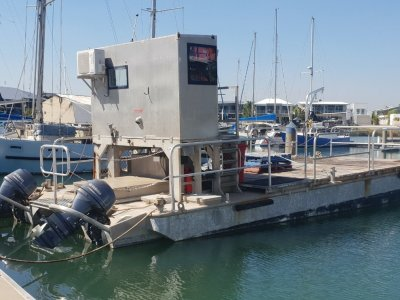 11m x 4.2m Aluminium Workboat | Workbarge |WB0252